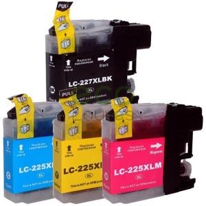 Brother LC225 LC227 - Pack de 4 Tinteiros Genéricos