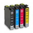 Epson 502XL -Pack de 4 Tinteiros Genéricos