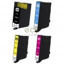 Epson 34XL - Pack de 4 Tinteiros Genéricos