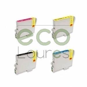 Epson T061x - Pack de 4 Tinteiros Genéricos