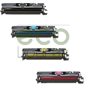 Pack 4 cores HP CLJ 2550