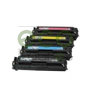 Pack 4 cores HP CLJ CP1215