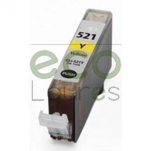 Canon CLI 521Y - Tinteiro Genérico