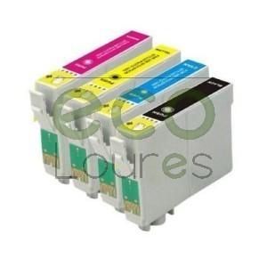 Epson T130x - Pack de 4 Tinteiros Genéricos