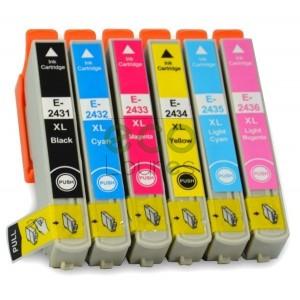 Epson T243x - Pack de 6 Tinteiros Genéricos